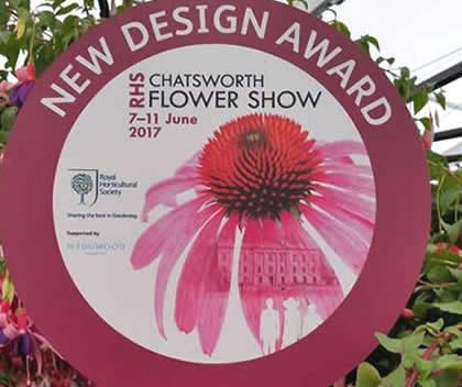 New Design Award Chatsworth Flower Show